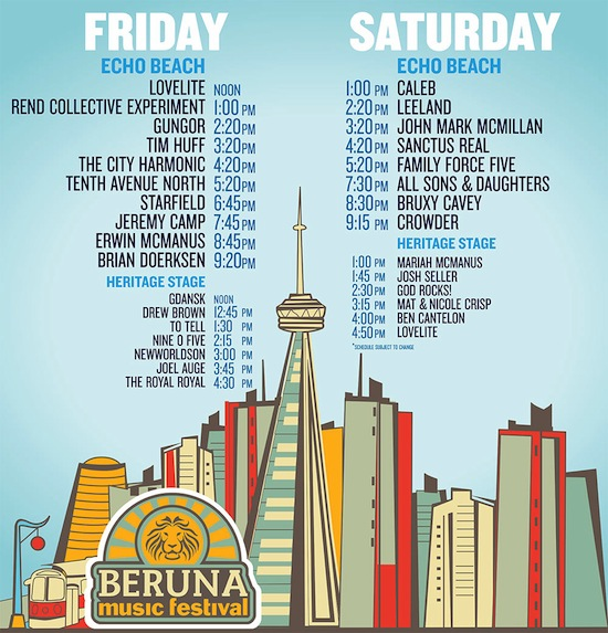 Beruna Schedule FINAL (LARGE)