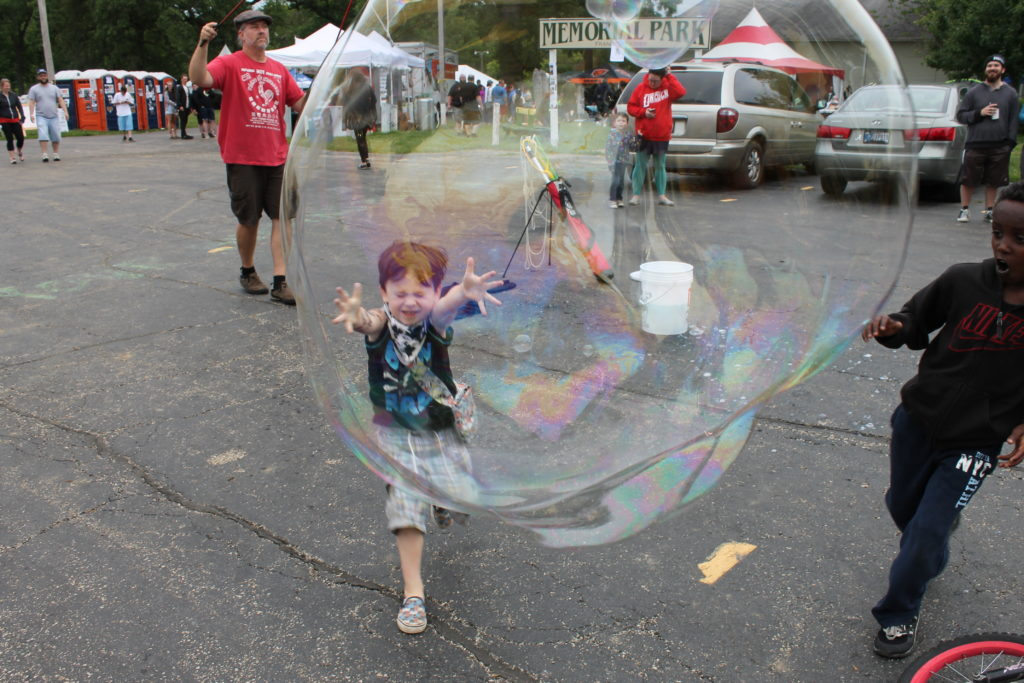Bubble attack!