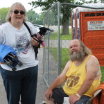 The Gatekeep and wife, Demon dog