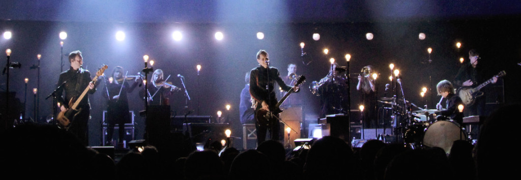 Sigur Ros Performing at Madison Square Garden (3/25/13)