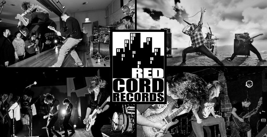 red cord collage