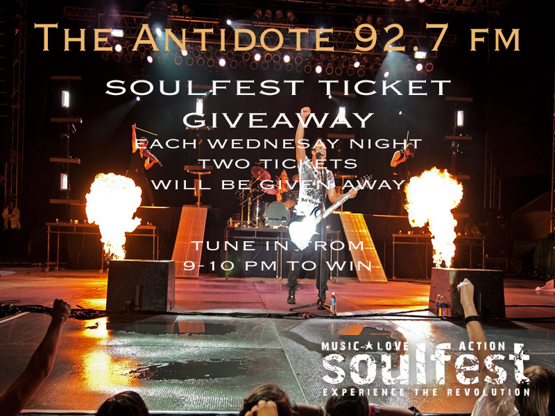 SoulFest ticket giveaway